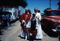 Children with priests